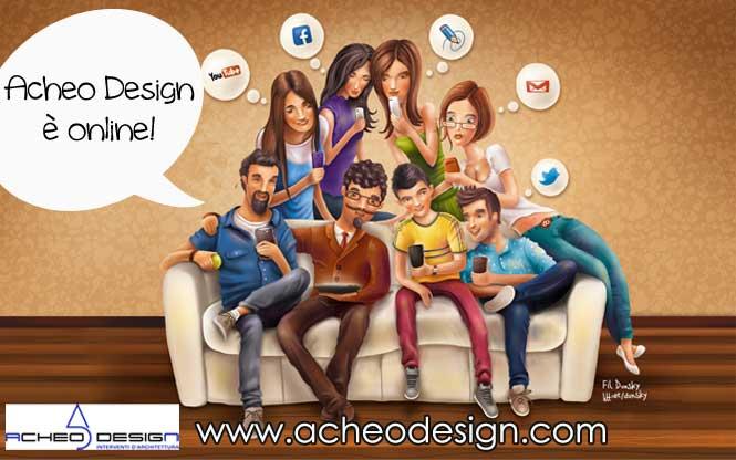 Idee per ristrutturare e arredare: il sito di Acheo Design è online!