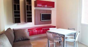 living con angolo cucina - Acheo Design