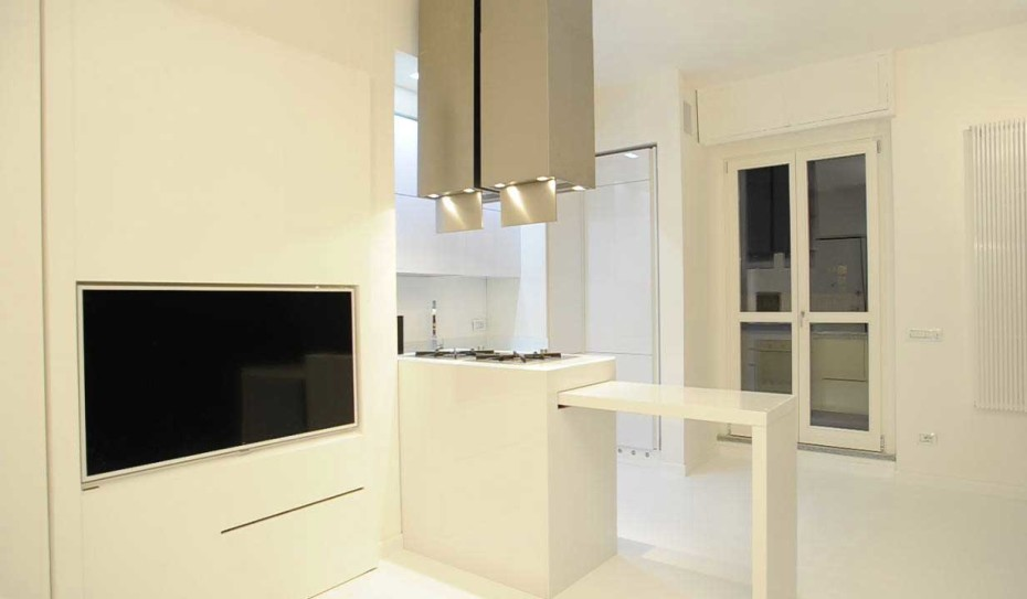 Cucina total white - Acheo Design