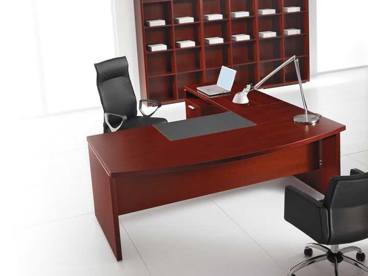 Ufficio direzionale arredi legno e pelle acheo design for Ufficio direzionale design