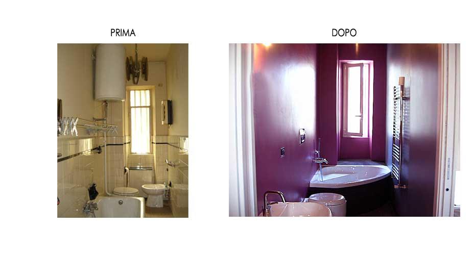 Ristrutturazione Bagno E Cucina : Bagno Ristrutturato Prima E Dopo ...