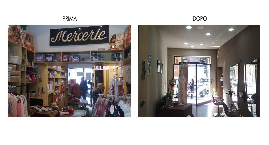 Negozio Per Cake Design Torino : Ristrutturazione di un Negozio per Parrucchiere a Torino ...