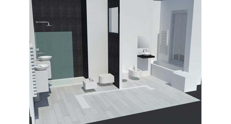 Progetto di un appartamento moderno acheo design for Progetti moderni