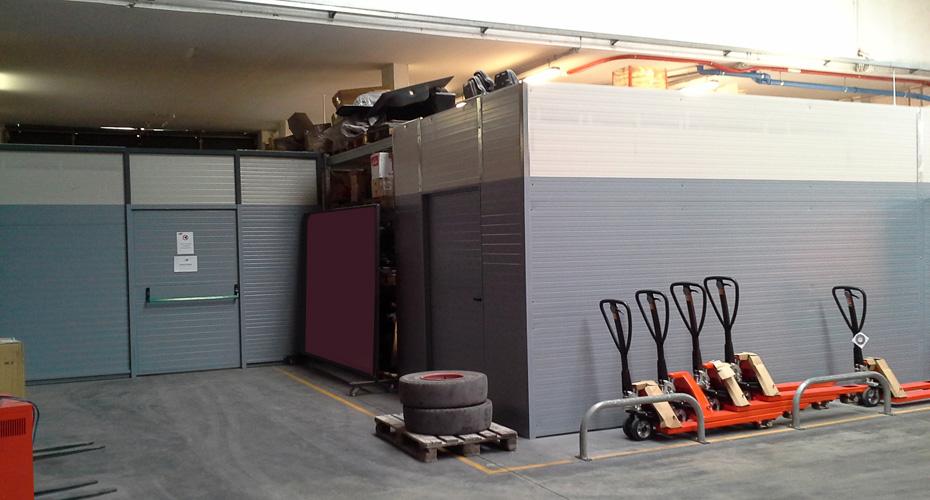 Gestione spazi magazzino acheo design for Arredamento magazzino