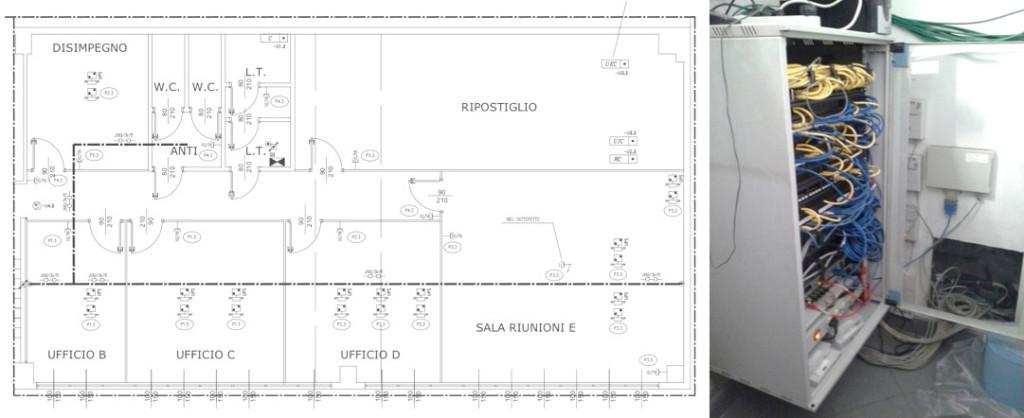 Capannoni industriali acheo design for Disegni di uffici di garage