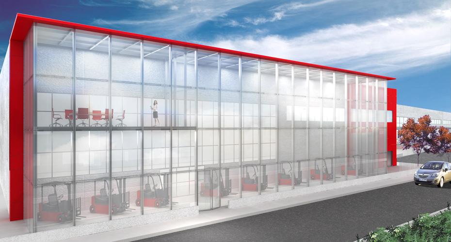 Progettazione-Showroom-Capannone-Torino