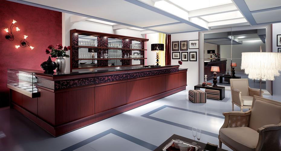 Arredamenti bar torino linea linea arredo zen tavoli e for Arredamento per negozi torino