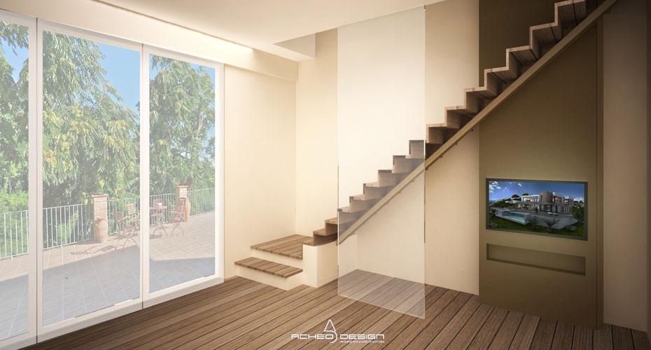 Ristrutturazione-Appartamento-San-Mauro-Torino-2017-Rendering-3