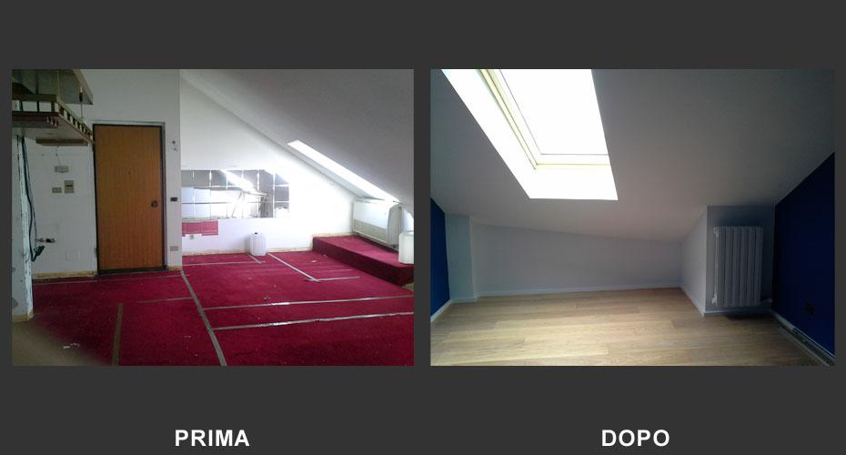 Ristrutturazione-Mansarda-Appartamento-San-Mauro-Torino-2017-Rendering-11