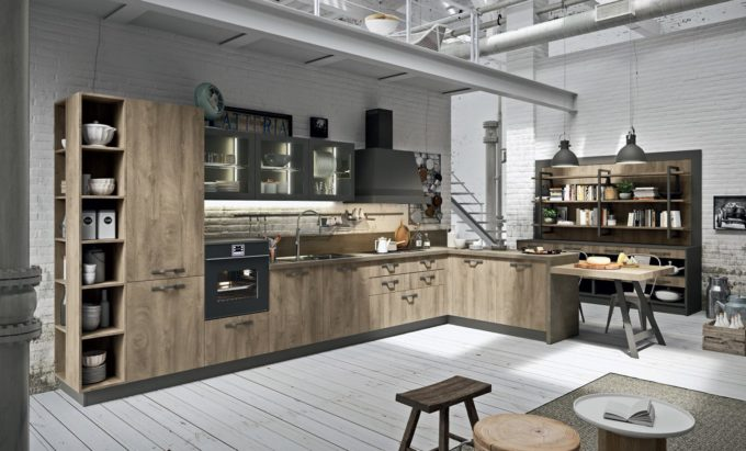 Tendenza industrial chic