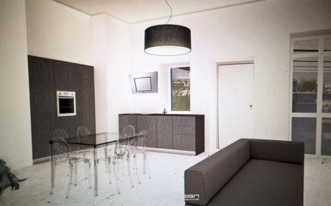 Ristrutturazione appartamento di 50 mq zona San Salvario – Torino