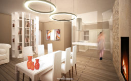 Progetto Soggiorno open space